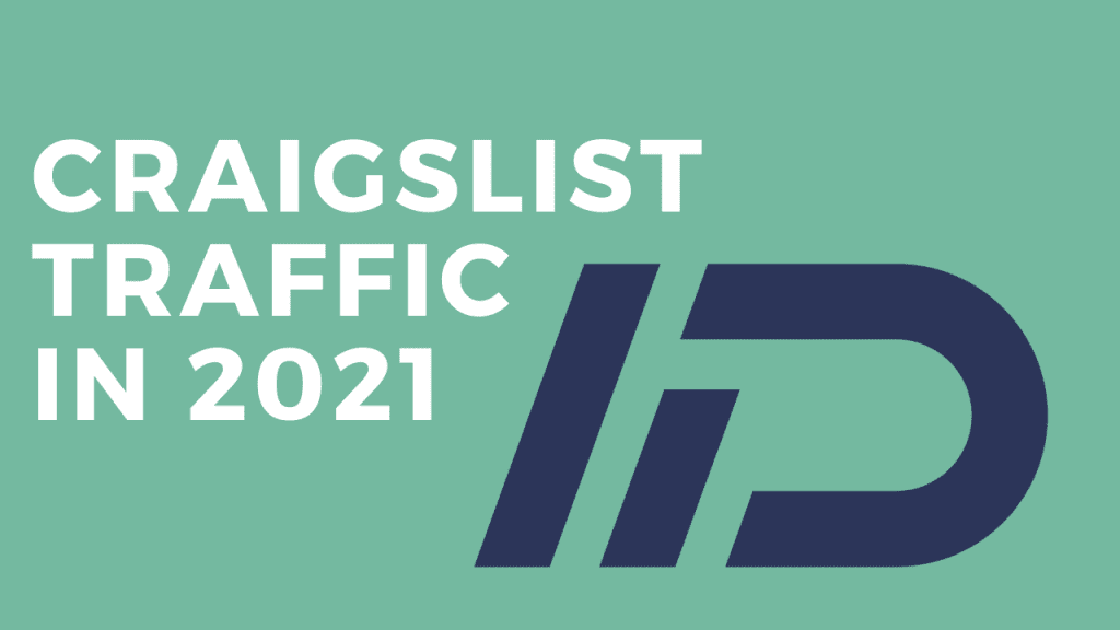 Graphic for Craigslist traffic in 2021